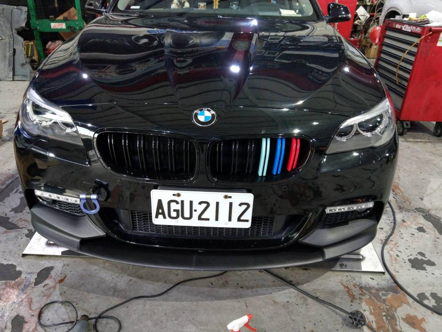Dokładka zderzaka przedniego BMW F10 F11 M Performance - GRUBYGARAGE - Sklep Tuningowy